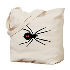 Black Widow Spider Tote Bag
