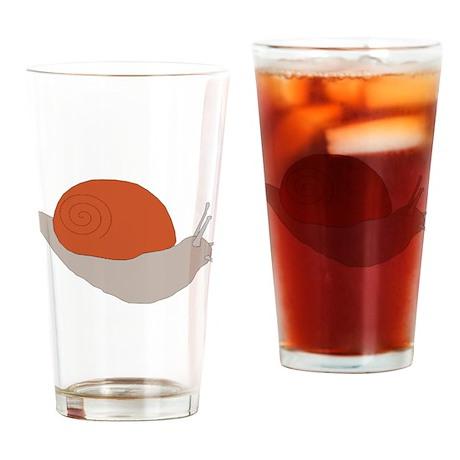 Snail Drinking Glass