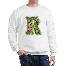 R Floral Sweatshirt