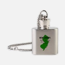 Killed and Eaten Flask Necklace