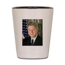 Cute Hillary 2008 Shot Glass