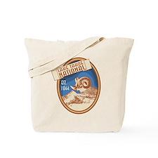 Lake Tahoe Blue Bighorn Badge Tote Bag