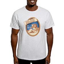 Lake Tahoe Blue Bighorn Badge T-Shirt