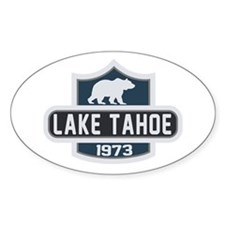 Lake Tahoe Nature Badge Decal
