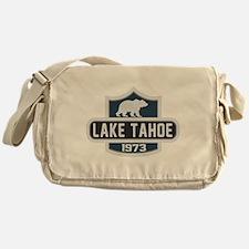Lake Tahoe Nature Badge Messenger Bag