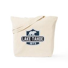 Lake Tahoe Nature Badge Tote Bag