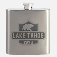 Lake Tahoe Nature Badge Flask