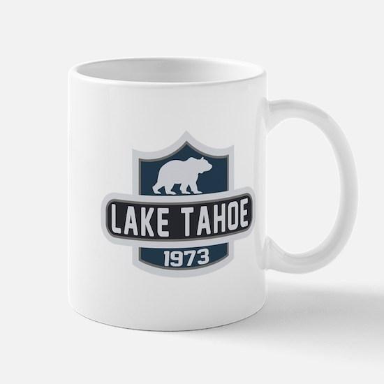 Lake Tahoe Nature Badge Mug