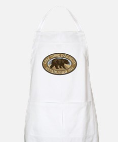 Lake Tahoe Brown Bear Badge Apron