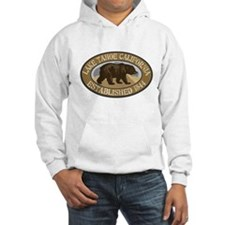 Lake Tahoe Brown Bear Badge Jumper Hoody