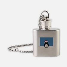 Angry Penguin Flask Necklace