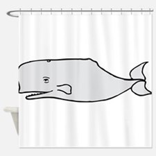 Grey Whale Shower Curtain