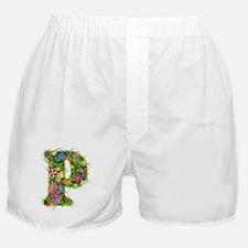 P Floral Boxer Shorts