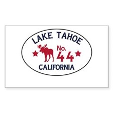 Lake Tahoe Moose Badge Decal