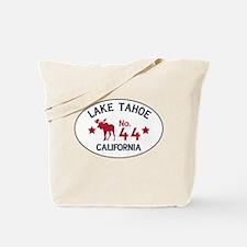 Lake Tahoe Moose Badge Tote Bag