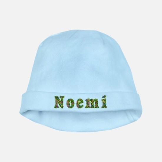 Noemi Floral baby hat