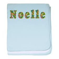 Noelle Floral baby blanket
