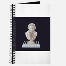 Beethoven Bust on Piano Keys Journal
