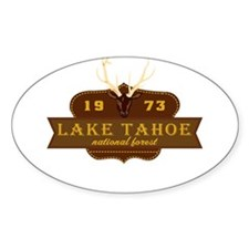 Lake Tahoe National Park Crest Decal