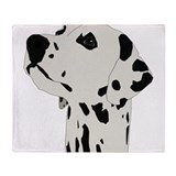 Dalmatian dog Fleece Blankets