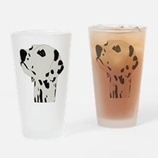 Dalmatian Dog Drinking Glass