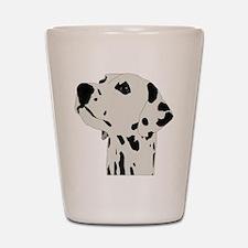 Dalmatian Dog Shot Glass