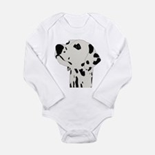 Dalmatian Dog Long Sleeve Infant Bodysuit
