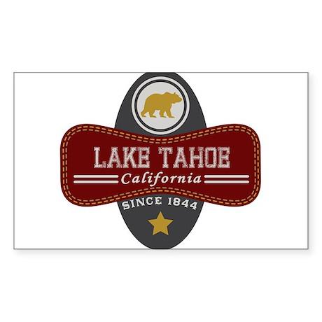 Lake Tahoe Nature Marquis Sticker (Rectangle)