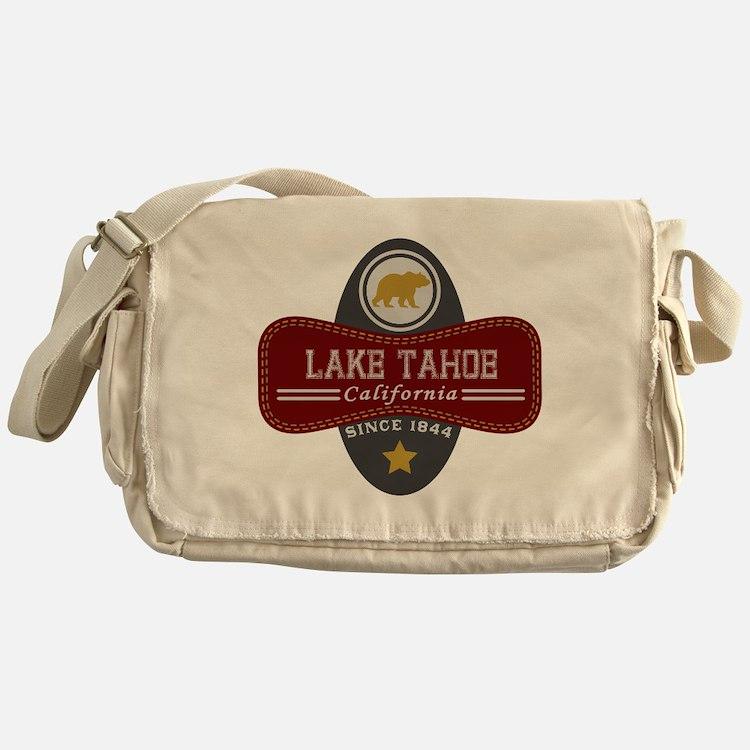 Lake Tahoe Nature Marquis Messenger Bag