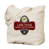 Lake tahoe Canvas Bags