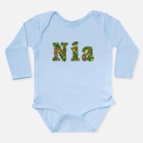 Nia Floral Long Sleeve Infant Bodysuit