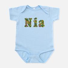 Nia Floral Infant Bodysuit