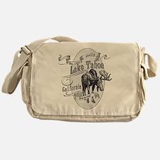 Lake Tahoe Vintage Moose Messenger Bag
