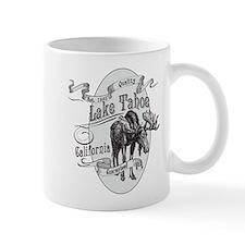 Lake Tahoe Vintage Moose Small Mug