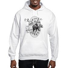 Lake Tahoe Vintage Moose Hoodie Sweatshirt