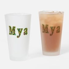 Mya Floral Drinking Glass