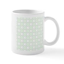 Cucumber Slice Pattern. Mug
