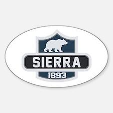 Sierra Nature Badge Decal