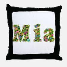 Mia Floral Throw Pillow