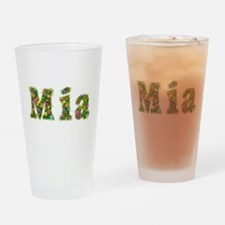 Mia Floral Drinking Glass