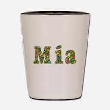 Mia Floral Shot Glass