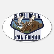 Sierra Mountaintop Moose Decal