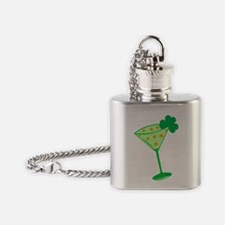 Shamrocktini Flask Necklace