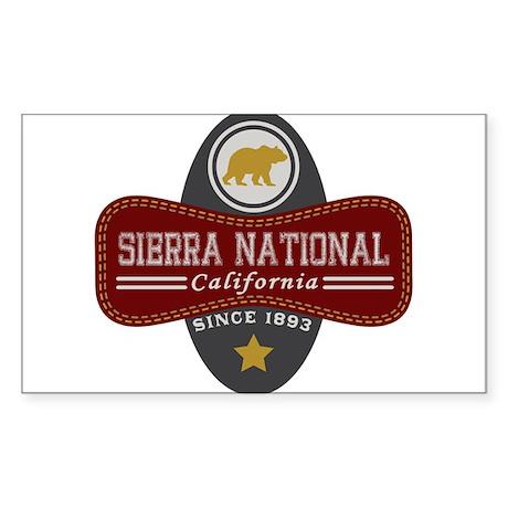 Sierra Natural Marquis Sticker (Rectangle)