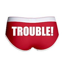 Women's TROUBLE! boy shorts