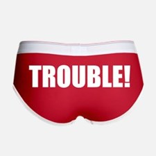 Women's TROUBLE! boy shorts