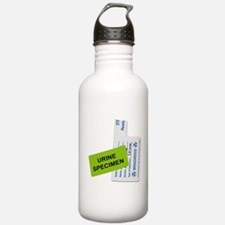 Urine Specimen Label Water Bottle