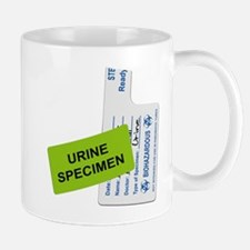 Urine Specimen Label Mug