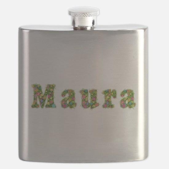 Maura Floral Flask