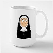 Nun Large Mug